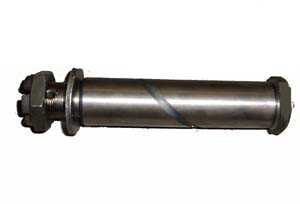 Spring pin bolt